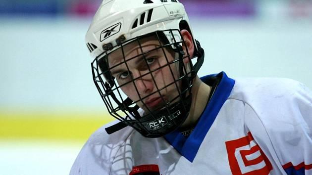 Luboš Rob mladší. V krvi mu kolují geny dvou hokejových generací.