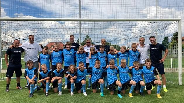Letní fotbalová škola v Třeboni