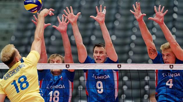 Mistrovství Evropy začalo pro český tým prohrou, smál se Ondrovič.