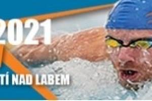 Plakát mistrovství plavců.