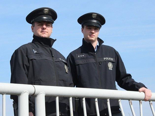 Robert Neubauer (vlevo) a Richard Horák.