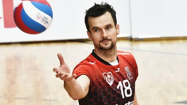 Filip Rejlek v dresu Jihostroje České Budějovice