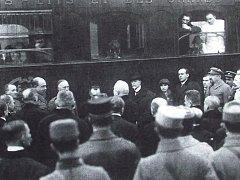 TGM vstoupil na českou půdu v roce 1918 v H. Dvořišti