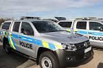 Policisté představili v pátek nové služební vozy.