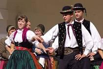 Festival lidové hudby v bavorském Aldersbachu.