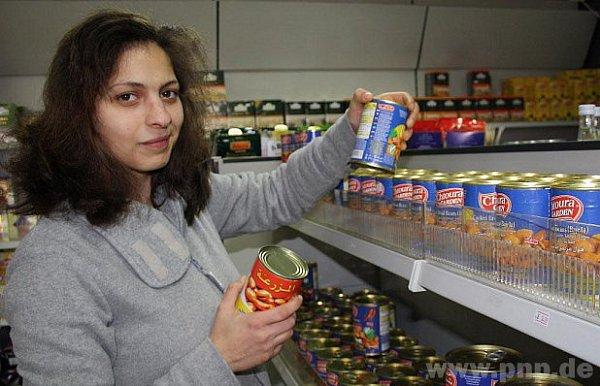 Arabská balení potravin jdou dobře.