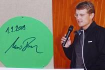 Dvojnásobný olympijský vítěz Martin Doktor na jihu Čech