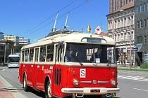 Historický trolejbus Škoda 9Tr.