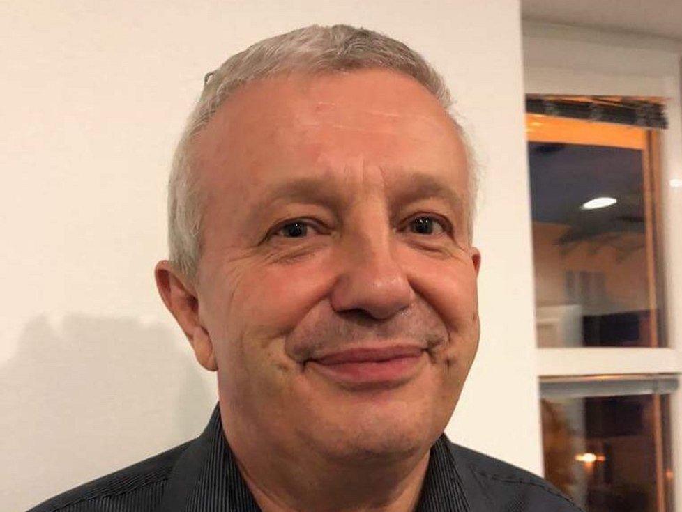 ŠÉF hokejistů David servisu Jaroslav David.