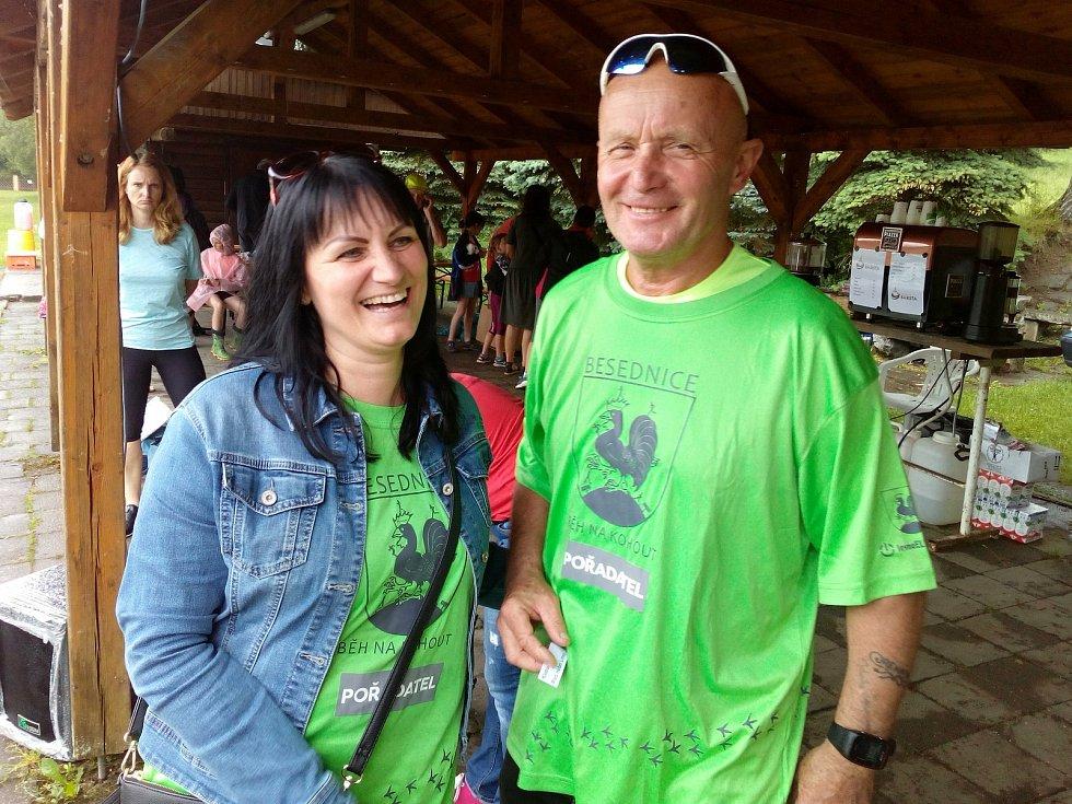 Na organizaci závodu se každoročně podílejí manželé Renata a Jiří Růžičkovi. Foto: Michal Havelka