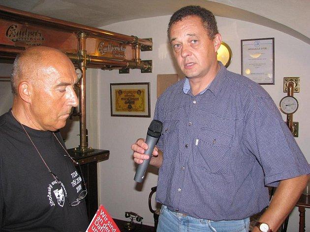 Tisková konference před startem Tour tří zemí