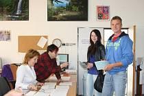 Volby v Horní Stropnici.