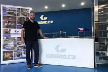 Manažerem fotbalového týmu společnosti Gastro Production bude Pavel Bouček (na snímku) z obchodního oddělení.