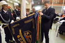 Českobudějovičtí hasiči ve čtvrtek na Výstavišti zahájili oslavy svých kulatých 150. narozenin.