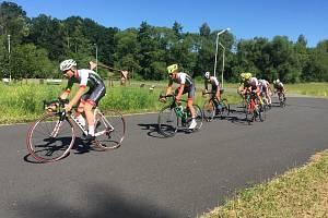 Cyklisté trénovali v Táboře