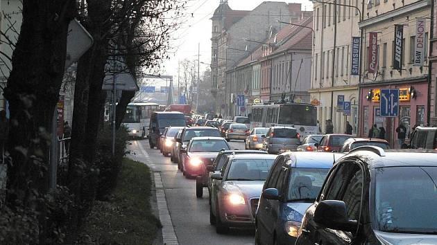 Doprava v Českých Budějovicích. Ilustrační foto.