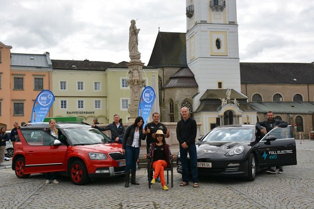 Na cestě kolem světa se zastavili ve Freistadtu.