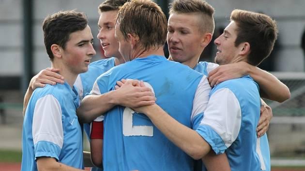 Dorostenci SKP ČB U19 se na podzim rozloučili se svými fanoušky výhrou nad FA Praha 6:0.