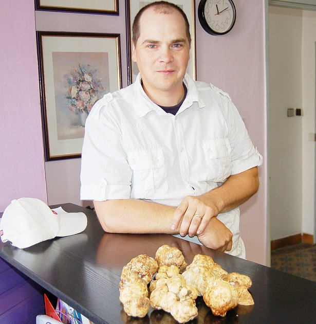 Pan Krajčovič našel tyhle lanýže v roce 2009.
