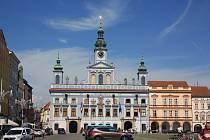 Budova městské radnice v Českých Budějovicích. Foto: Dalibor Máslo