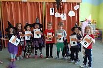 V MŠ Žimutice se předškoláci a paní učitelky užívali čarodějnické aktivity celý týden.