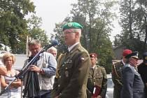 Major v záloze Petr Pokovba se i letos zúčastnil setkání letců.