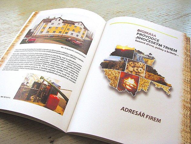 Brožura přináší informace o ekologickém palivu a kotlích a také důležité kontakty.