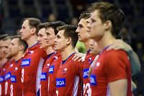 Součástí týmu byli také volejbalisté Jihostroje Petr Michálek a Radek Mach.