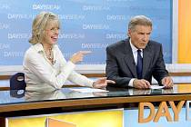 Dvojici moderátorů hrají ve filmu Hezké vstávání, jejž ve středu uvede v předpremiéře CineStar, Diane Keaton a Harrison Ford.