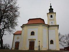 Novou fasádu dostane v letošním roce dříteňský kostel svatého Dismase.
