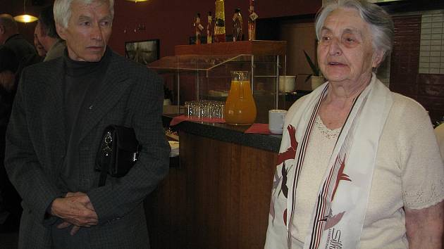 Jaroslava Komárková/Křítková a Milan Čuda