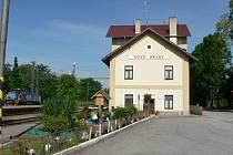 Jakule u Nových Hradů je místem, kde je nádraží Nové Hrady, jehož okolí je vzorně upraveno.