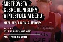 Plakát mistrovství atletů.