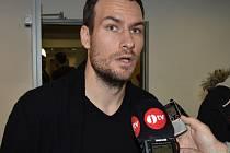 Michael Rabušic se po zranění zapojil do přípravy Dynama.