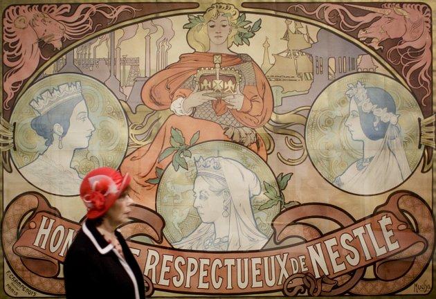 Hlavní tahák příští sezony vAlšově jihočeské galerii bude výstava Alfons Mucha vzrcadle doby.