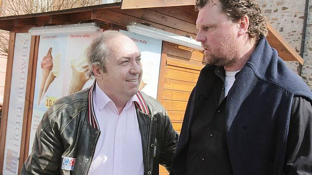 Milan Nový (vlevo) s Romanem Turkem