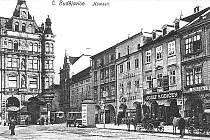 KDYSI: Weinwurmův dům před rokem 1925. Foto: Archiv Jana Schinka