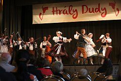 DUDÁCI. Budějovická Slavie je tradičním kulturním stánkem. V září třeba hostila akci Hrály dudy (na snímku).