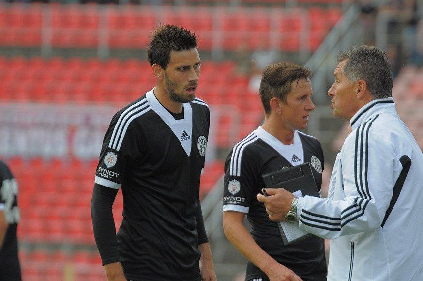 Michal Klesa u trenéra Luboše Urbana