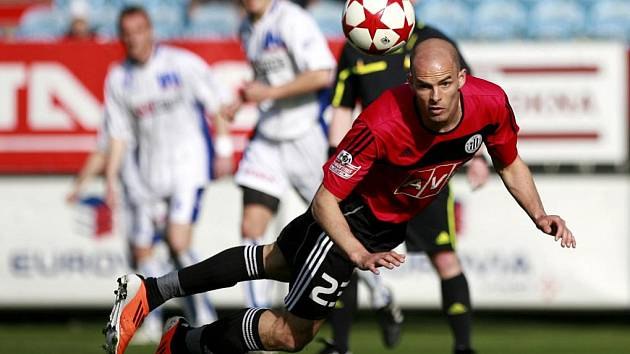 Utkání 23.kola Gambrinus ligy mezi celky SK Dynamo České Budějovice a FK Ústí nad Labem.