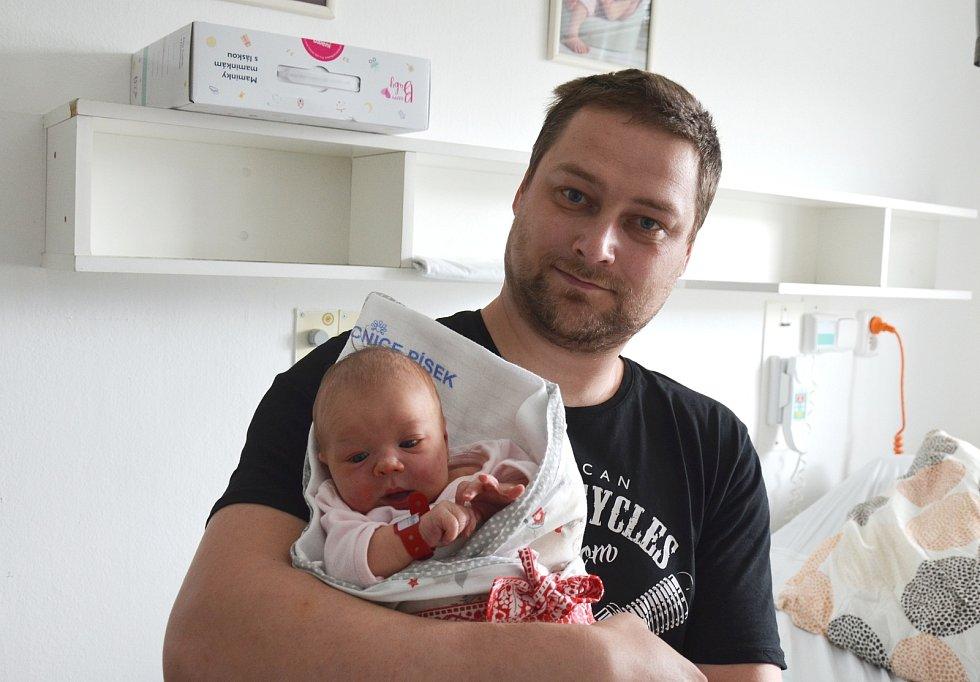 Sofie Šafářová z Všeteče. Prvorozená dcera Lucie Řípové a Martina Šafáře se narodila 6. 4. 2021 ve 14.51 hodin. Při narození vážila 3500 g a měřila 49 cm.