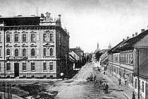 otel U Karla IV. v roce 1907.