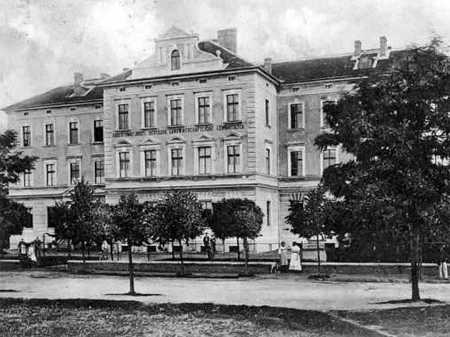 Německá rolnická škola po roce 1900.