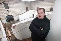 Správce tvrze Žumberk Roman Josefík.