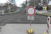 Uzavírky na Českobudějovicku. Týn nad Vltavou.