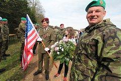 Sedmdesát dva let od sestřelení kapitána Reutera si v sobotu připomněli v Boršově nad Vltavou