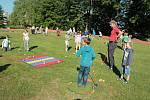 Golf si mohly vyzkoušet i žáci prvního stupně základní školy