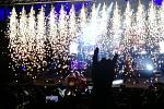 Hudební skupina Harlej letos slaví 25. výročí. Na narozeninovém turné se zastavila i v českobudějovickém letním kině Háječek.