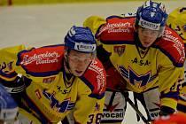 Jaroslav Kasík (vlevo) se svým spoluhráčem Romanem Vráblíkem.