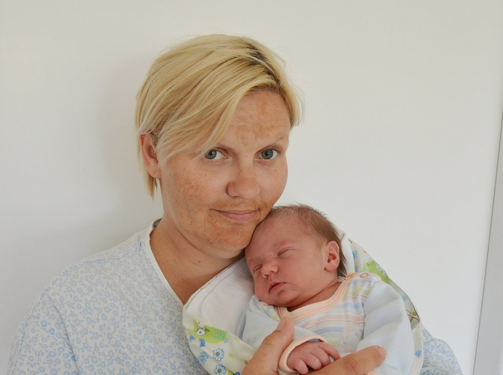 Matyáš Jakub Šenk ze Stožce. Syn Michaely Šenkové a Jakuba Trojana přišel na svět 19. 7. 2021 v 8.23 h. Váha po porodu ukazovala 2,80 kg.